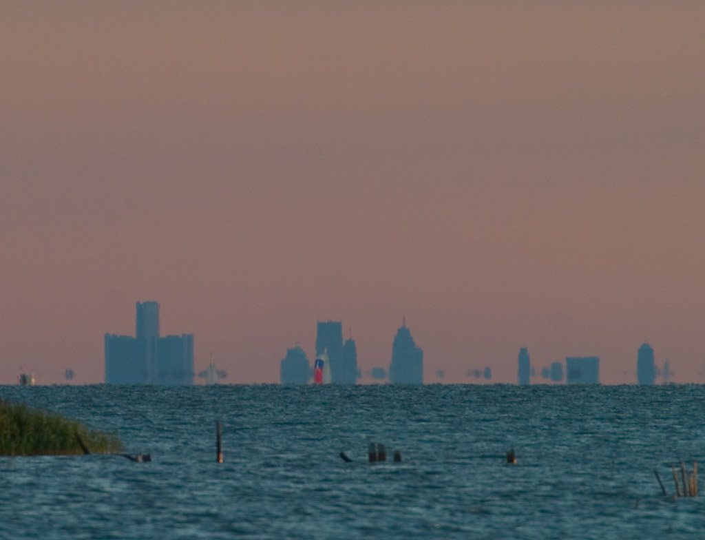 Detroit from 25 mile away