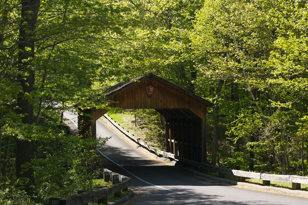 Bridge on the scenic Drive