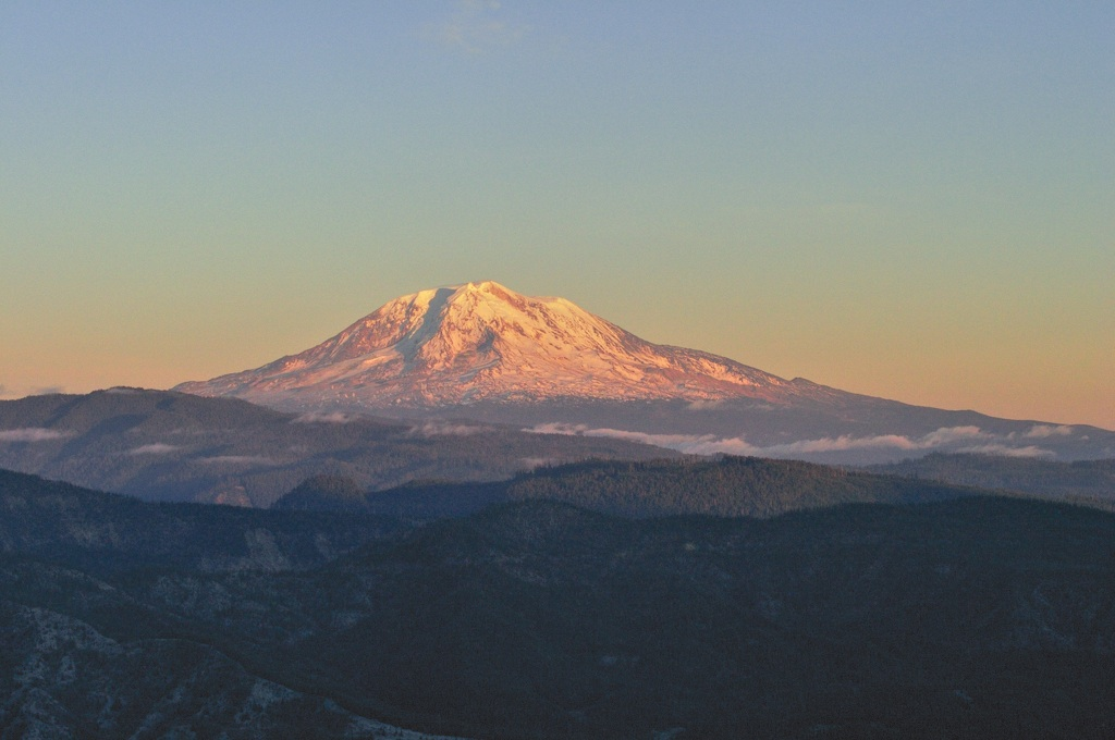 Goodbye Mt Adams